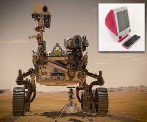 أحدث مركبة جوالة على المريخ من ناسا تعمل بمعالج جهاز...