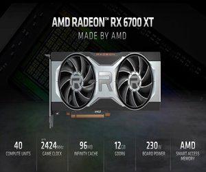 شركة AMD تعلن رسميا عن كرت الرسومات RX 6700XT ????  ...