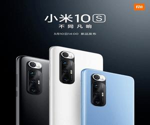شاومي تحدد يوم 10 من مارس للإعلان الرسمي عن هاتف Mi 10S