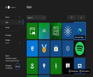 مايكروسوفت تختبر متصفح Edge لمنصات Xbox