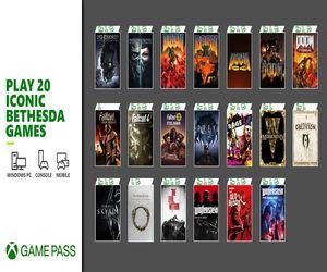 Xbox Game Pass يحصل على 20 لعبة من ألعاب Bethesda