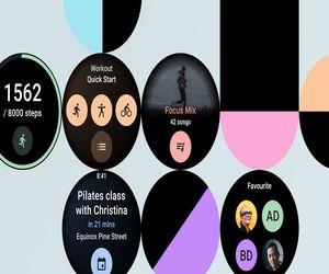 ساعات Wear OS تحصل على اللوحات المخصصة