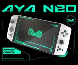Aya Neo .. الحاسب المحمول للألعاب متوفر الآن عبر Ind...