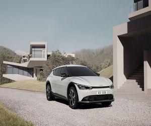 كيا تعرض الصور الأولى للسيارة الكهربائية EV6