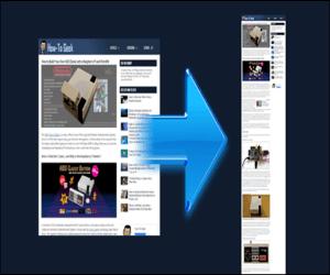 كيفية التقاط لقطة شاشة لصفحة ويب كاملة