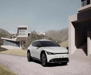 أول الصور التي تستعرض تصميم سيارة Kia الكهربائية EV6