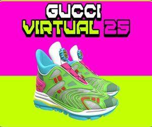 Virtual 25 .. أحذية رياضية افتراضية من Gucci