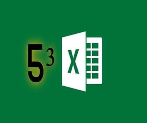 كيفية كتابة الأسس في إكسل Excel
