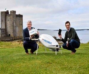 سامسونج تسلم منتجاتها في أيرلندا عبر الطائرات المسيرة