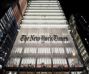 صحيفة نيويورك تايمز باعت أحد أعمدتها بصفته NFT