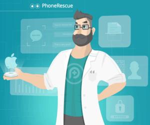 برنامج PhoneRescue لاستعادة البيانات المفقودة على الآي-فون