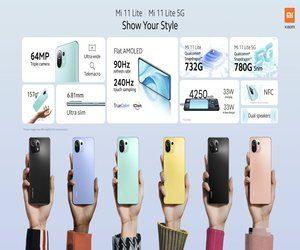 شركة #Xiaomi تعلن عن هاتف #Mi11Lite  مع معالج  كوالك...
