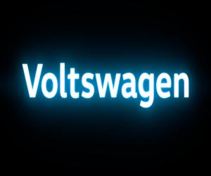 فولكس فاجن تغير اسمها إلى Voltswagen في أمريكا