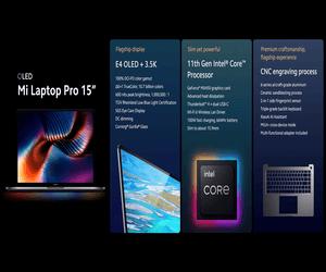 شاومي تكشف عن جهاز Mi Laptop Pro بحجم 15 إنش وشاشة E...