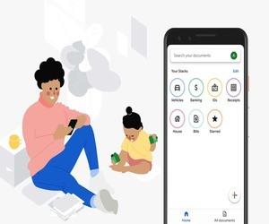 Stack .. تطبيق تجريبي من جوجل لمسح المستندات وتصنيفها