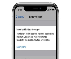 iOS 14.5 يعيد معايرة بطاريات iPhone 11