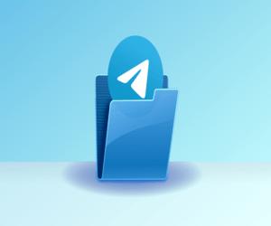 كيف يمكنك إنشاء مجلدات للمحادثات في تطبيق تيليجرام ل...