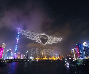 Genesis حطمت الرقم القياسي عبر 3281 طائرة مسيرة