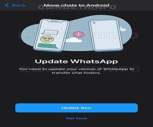 تطبيق الواتساب يختبر حاليا خاصية نقل سجل المحادثات ب...