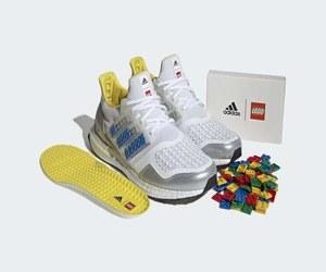 حذاء من أديداس قابل للتخصيص عبر مكعبات Lego