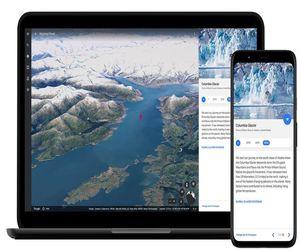 Google Earth يظهر الأضرار الناجمة عن تغير المناخ