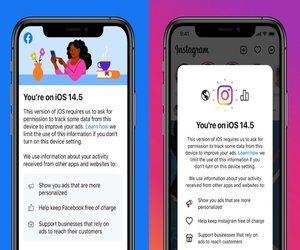 تطبيقات Facebook تطالب مستخدمي تحديث iOS 14.5 باتاحه...