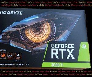 ظهور الصورة الأولى لصندوق كرت الرسومات RTX 3080 Ti م...