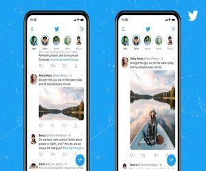 تطبيق تويتر بدأ تدريجيا بدعم الصور الطولية وظهورها ب...
