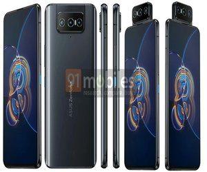 تسريب تصاميم هاتفي Asus ZenFone 8 و ZenFone 8 Flip ?...