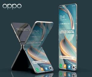 Oppo تستعد لإطلاق هاتف بتصميم صدفي بحجم شاشة 7 إنش