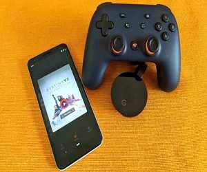جوجل لديها طريقة للتحكم بألعاب Stadia عبر التلفاز به...