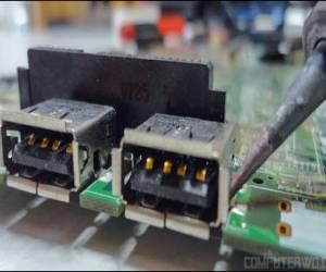 طرق حل مشكلة منافذ USB لا تعمل فى اللاب توب