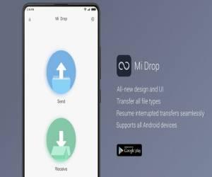 تطبيق Mi Drop لإرسال واستقبال الملفات بشكل سريع للأندرويد