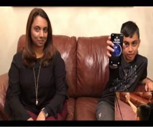 طفل في العاشرة يخدع Face ID وينجح بفتح هاتف آيفون X الخاص...