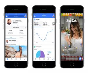 فيسبوك تُطلق تطبيق مخصص لصانعي محتوى الفيديو