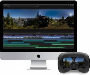 برنامج Final Cut Pro X من آبل يدعم تعديل فيديو الواقع الا...