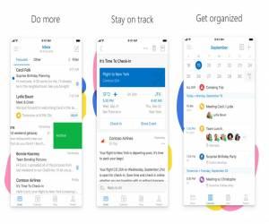 تحديث أوتلوك على iOS يدعم آيفون X