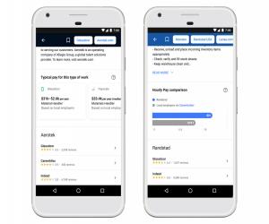 ميزة البحث عن الوظائف في محرك البحث Google حصلت على بعض ا...