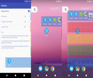 تطبيقDrawers لتنظيم التطبيقات في أدراج على الشاشة الرئيسية
