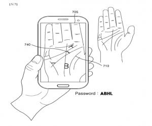 هواتف Galaxy المستقبلية ستبحث عن كلمة السر بكف يدك