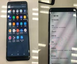 أحدث التسريبات لهاتف جالكسي A8 بلس لعام 2018