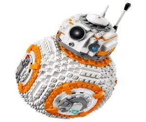 إطلاق ليجو جديد ضخم لشخصية BB-8 من Star Wars