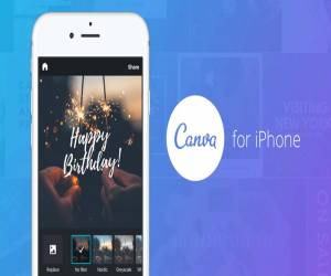 تطبيق Canva لتصميم صور إبداعية للأيفون