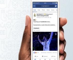 فيسبوك ترصد ميزانية ضخمة للظفر بحقوق بثّ الأحداث الرياضية...