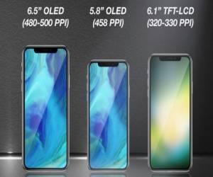 تقرير: آبل ستطلق ثلاثة هواتف تشبه آيفون X العام المقبل
