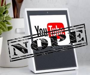 قوقل تحظر يوتيوب مجدداً على منتجات أمازون Echo Show و Fir...
