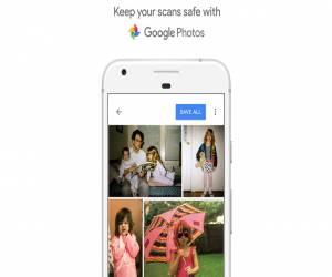 أخيراً تطبيق PhotoScan يدعم حفظ الصور التلقائي على Google...