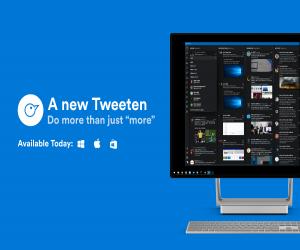 تحديث تطبيق عميل تويتر Tweeten يدعم الآن صور GIF وأكثر