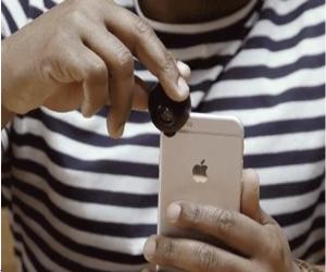 Fishball عدسة 360 درجة يمكن تعليقها على كاميرا الآيفون