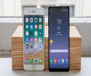 مقارنة الآداء بين Galaxy Note 8 و iPhone 8 Plus